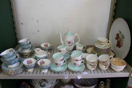 Royal Albert Enchantment tea service together with a Royal Albert Elfin tea service etc.