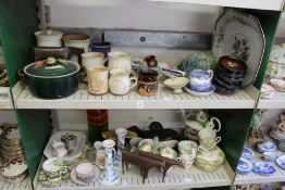 Household and decorative china, glass etc.