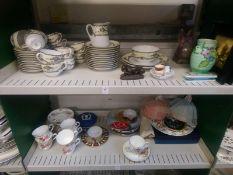 A quantity of decorative china , etc
