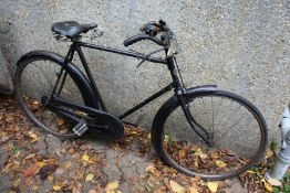 An early Whitworth Rudge gentleman's bicycle.