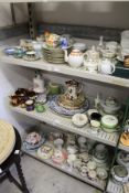 A quantity of household and decorative china.