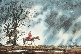 After Norman Thelwell (1923-2004) British. A Set of Five Humorous Prints of Country Pursuits, Signed