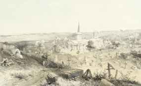 After William Simpson (1823-1899), a set of six lithographs from 'Seat of War in the East',