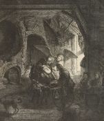 A collection of five old master prints, unframed (5).