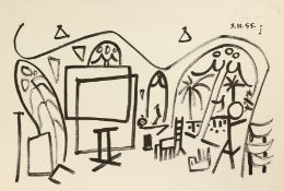 After Picasso, A collection of 3 prints (3).