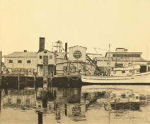 """William C. Gilpin (20th century) American, A print of the Western Canners Co., 20"""" x 24""""."""