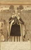 """Bartolozzi after Holbein. 'The Good Queen', engraving, 12"""" x 8""""."""