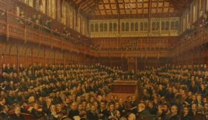 Spencer Sawyer. Bird & Co (19th century) A Scenes of the House of Commons and the a Scene of the