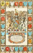 John Speed (1551-1629), 'The Achievements of our Soveraigne King Charles II.', A coat of arms,