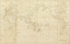 18th century, 'A General Chart: Exhibiting the Discoveries Made By Capt. James Cook...',