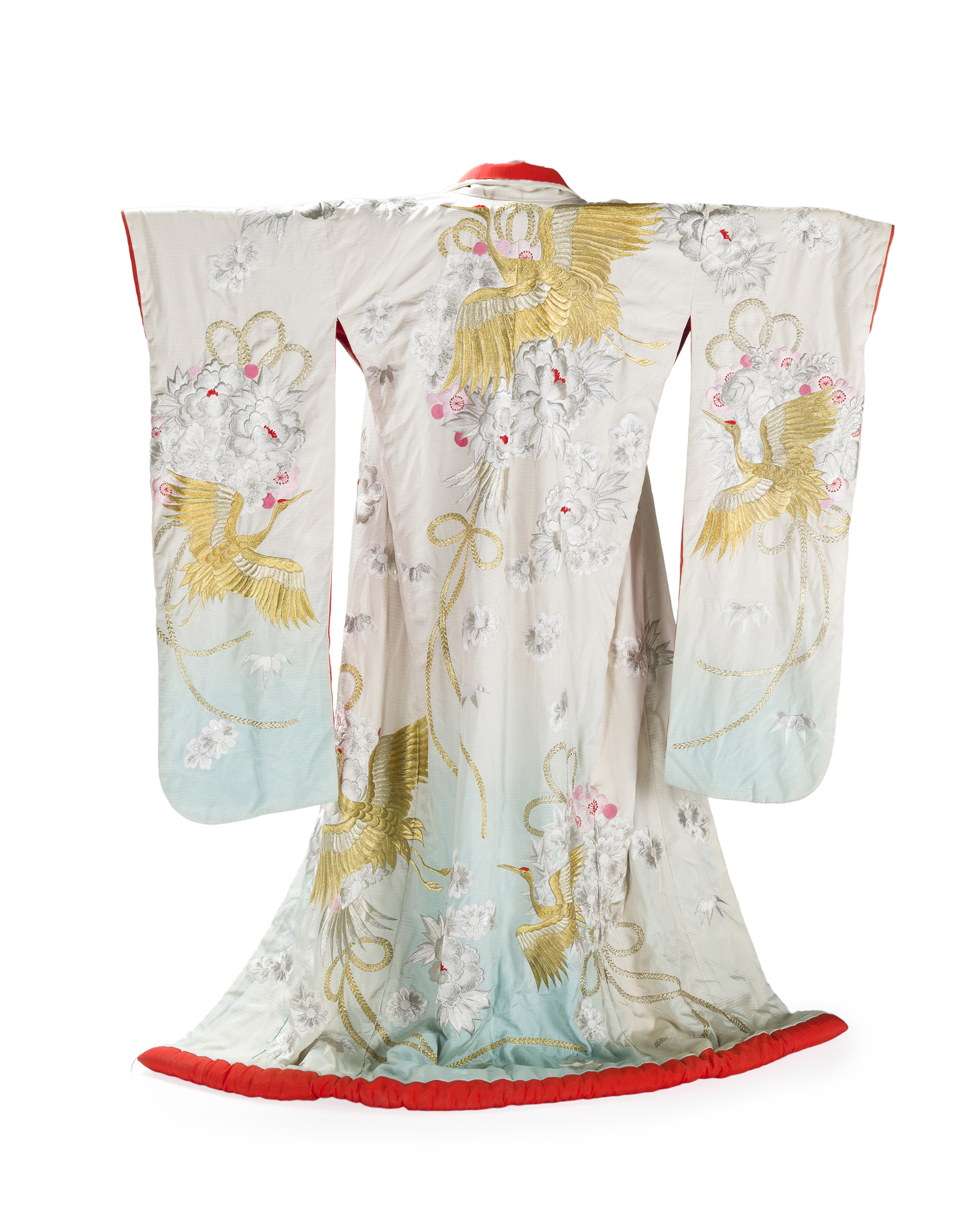 Lot 21 - A Japanese wedding kimono