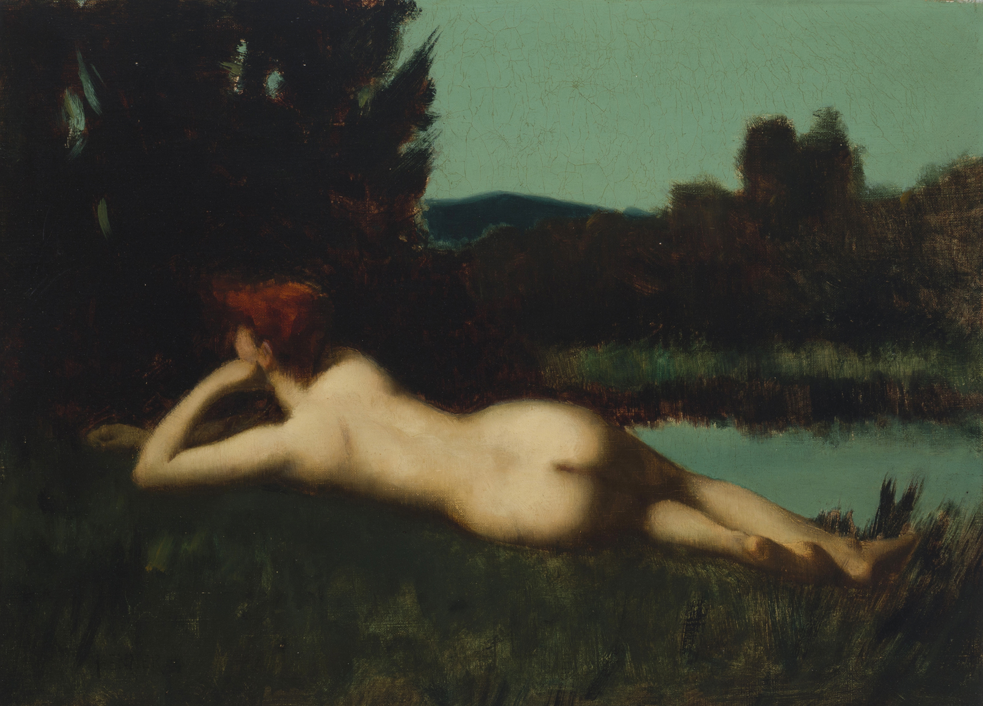 Lot 52 - Jean-Jacques Henner (1829-1905 French)