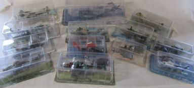 Selection of Amer Com Collection die cast model helicopters