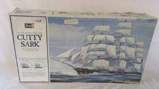 Revell model kit of the Cutty Sark