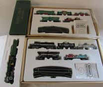 Matchbox Southern Crescent Limited model train, Matchbox Railroad train set & Holiday Express
