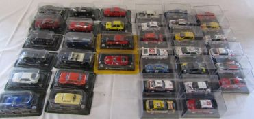 Quantity of die cast model cars inc Rally cars etc