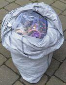 Large sack of costume jewellery