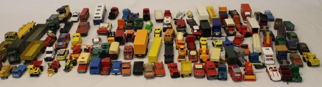 Quantity of die cast vehicles including Dinky