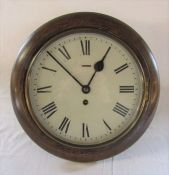 Circular wall clock D 36 cm