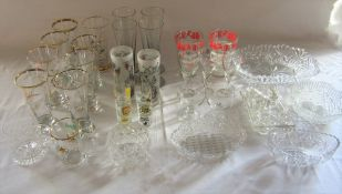 2 boxes of assorted glassware (sample shown)