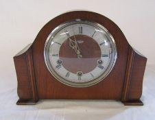 Smiths mantel clock L 30 cm H 22.5 cm