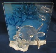 Swarovski Wonders of the Sea 'Eternity' figures H 20 cm complete with box, paperwork and outer box
