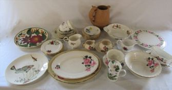 Various ceramics inc Duchess, Royal Worcester, Sylvac, Wade and Johnson Bros (2 boxes)