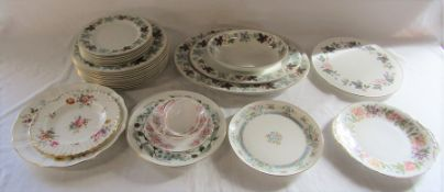 Various ceramics inc Royal Doulton Camelot part dinner service, Wedgwood Spring Morning, Royal