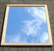 "Large wall mirror 102cm x 132 cm (40"" x 52"")"