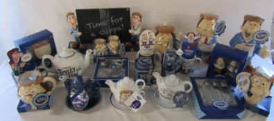 Quantity of Tetley Tea collectables all in original packaging