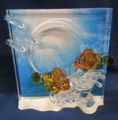 Swarovski Wonders of the Sea 'Harmony' figures H 20 cm complete with box, paperwork and outer box