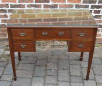 Edwardian dressing table L 97 cm W 50 cm H 77 cm