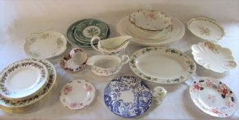 Various ceramics inc Royal Crown Derby, Royal Albert, Wedgwood and spode (2 boxes)