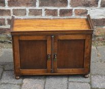 Small 1930s cabinet L 56 cm H 39.5 cm D 24 cm