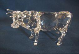 Boxed Swarovski cow 905775 L 12 cm