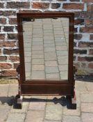 Oriental table mirror H 87.5 cm L 54.5 cm