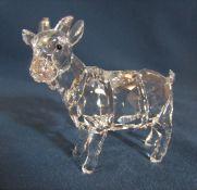 Boxed Swarovski goat L 7 cm 897351