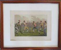Henry Alken (1785-1851) late 19th century lithographic print 'A prize fighter' 56 cm x 46 cm (size
