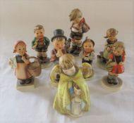 Selection of Goebel figures