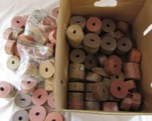 Large quantity of bus ticket reels from Leicester City Transport