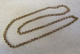 9ct gold necklace weight 8.1 g length 51 cm