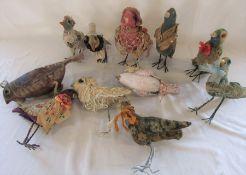 11 Daria Sikora OOAK handmade birds (primitive dolls)