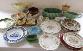 Various ceramics inc Sylvac, Royal Doulton, Aynsley, Wedgwood, Spode and Royal Winton