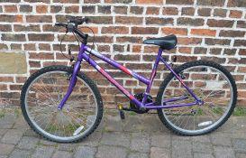 Universal blowout wild thing ladies bicycle