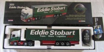 Corgi limited edition sights and sounds Eddie Stobart die cast model