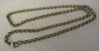 """9ct gold necklace weight 16.6 g L 18 """""""