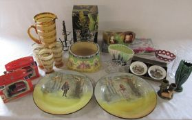 Various ceramics inc Royal Doulton Ophelia and Hamlet, Royal Worcester, Sylvac & Hornsea,