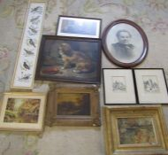Quantity of prints, paintings and tapestries (sample shown)