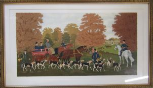 Vincent Haddelsey (1934-2010) framed limited edition French artist proof lithographic print of horse