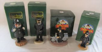 4 boxed Robert Harrop figures - Camberwick Green - PC McGarry and PC McGarry on motorbike, Doggie